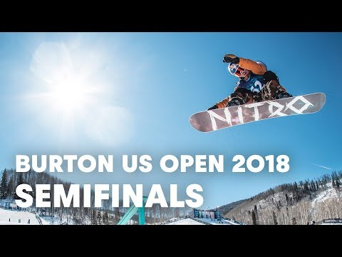 LIVE - Snowboarding Halfpipe Semifinals at Burton US Open 2018 - Men