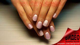 Дизайн ногтей гель-лак Shellac - Cлайдер дизайн (уроки дизайна ногтей)