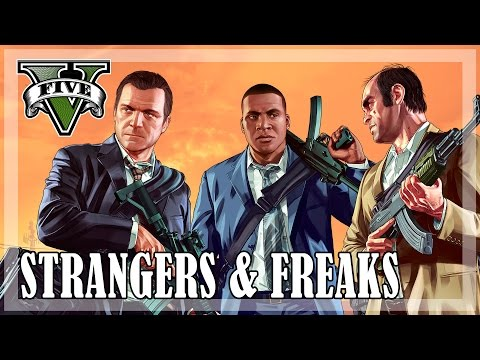 GTA 5 - All Strangers And Freaks [Gold Medal]