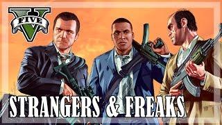 GTA 5 - All Strangers and Freaks [Gold Medal]