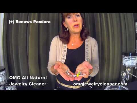 OMG All Natural Jewelry Cleaner - Renews All Jewelry