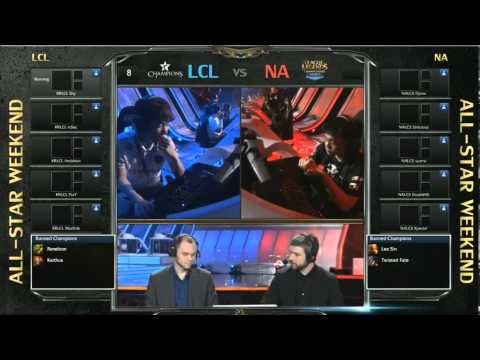 League of Legends All-Star Shanghai 2013 NA LCS vs. Korea Champions Team Game 1
