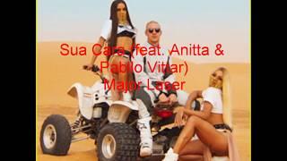 Sua Cara (feat. Anitta & Pabllo Vittar) Major Laser-LETRA