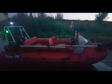 Лодка Риф Тритон 390F тюнинг