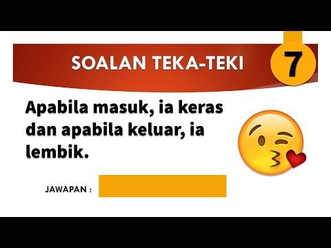 Teka Teki Lucu Lawak Rakyat Malaysia Part 7 Gembira Edutv 2020 Youtube