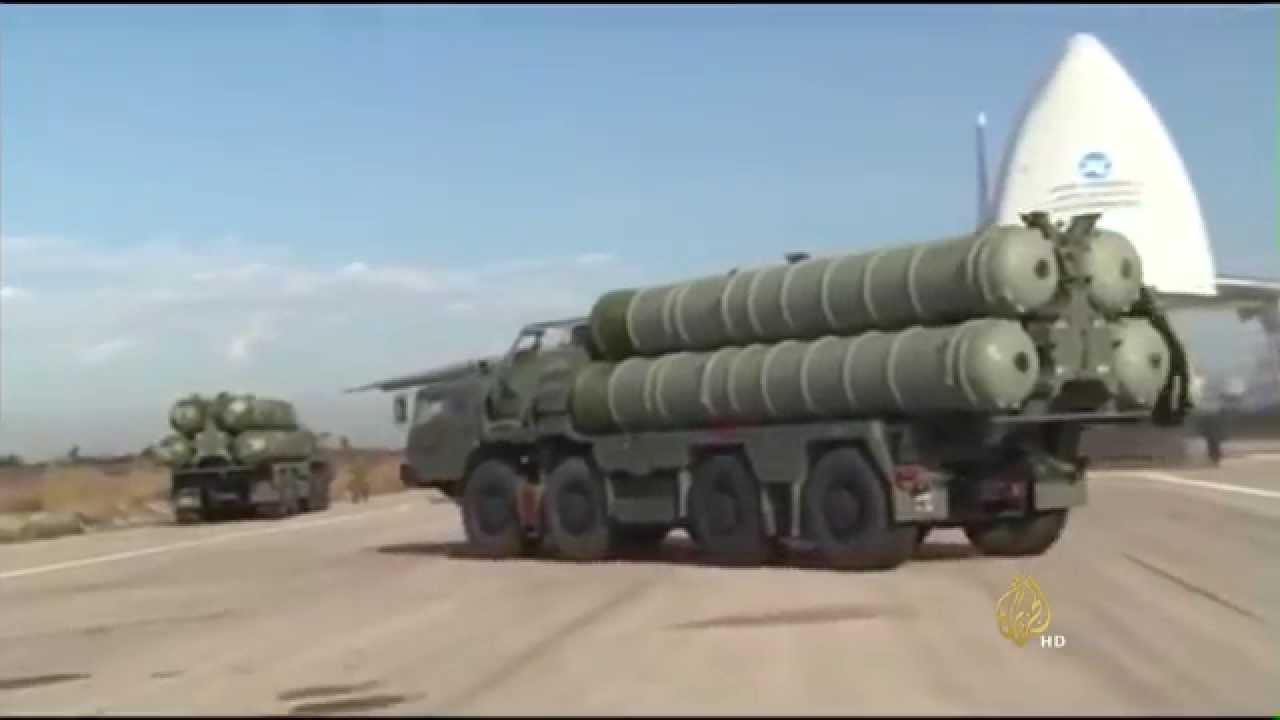 الجزيرة: روسيا تعلن بدء العمل بمنظومة أس400 في سوريا