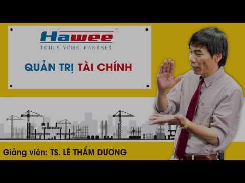 Lê Thẩm Dương - Đào tạo Quản trị tài chính tại Hawee Group