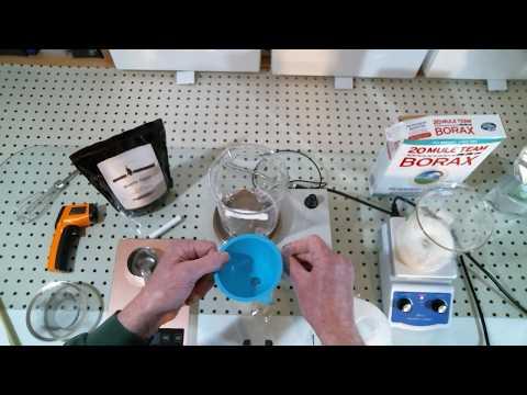 Bioplastics: Waterproof Casein Glue. Milk glue.