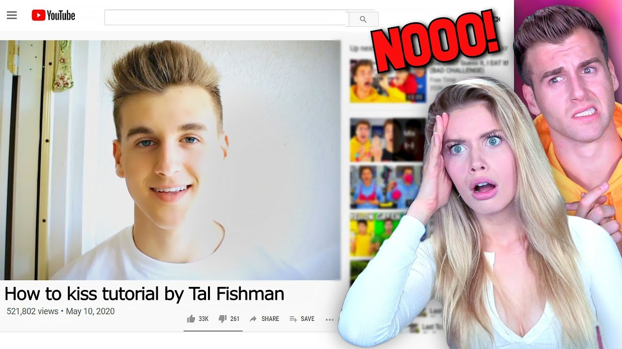 Reacting To My BOYFRIENDS REALLY BAD Old Videos...