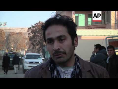 Cook who survived attack on Kabul restaurant recounts his ordeal