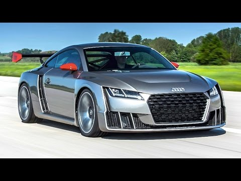 Audi TT Clubsport Turbo New Electric Biturbo Review INTERIOR Engine Sound CARJAM TV HD 2015