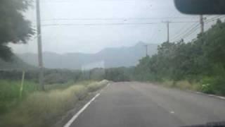石垣島県道79号線を伊原間から伊土名辺りまで