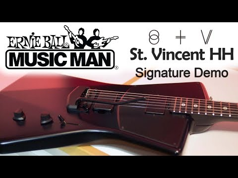 Ernie Ball Music Man St. Vincent Signature HH Demo by Cooper Carter