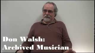 Don Walsh on Saving Everything and Being Archived Thumbnail