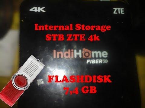 STB ZTE 4K B860H - Internal Storage Menggunakan Flashdisk
