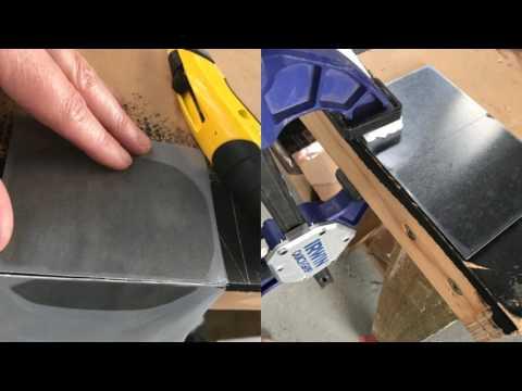 DIY Self-Adhesive Metal Tiles step-by-step