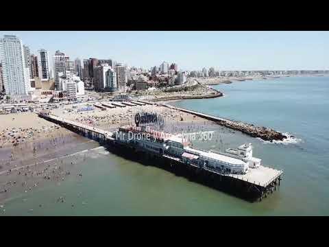 Mar del Plata DRONE Argentina Verano 2019