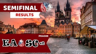 Semifinal Results || Eurovision Artists Other Song Contest (#2) || Prague