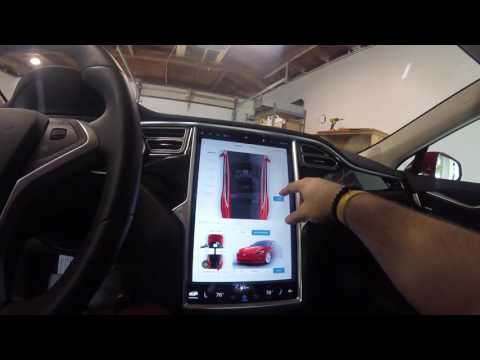 Tesla Model S Software Update 8.0 Quick Overview
