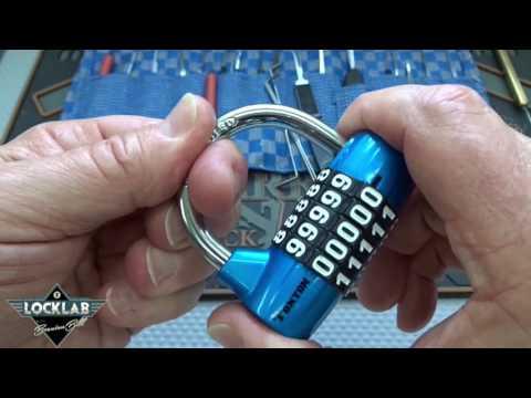 (849) How to Pick 5-Digit Combo Locks