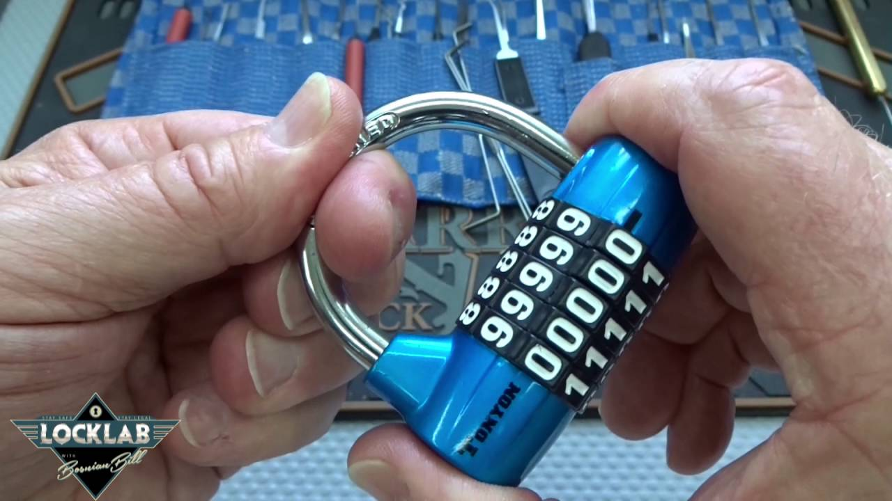 2e2234541141 (849) How to Pick 5-Digit Combo Locks