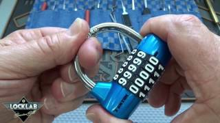 (849) How to Pick 5-Digit Combo Locks