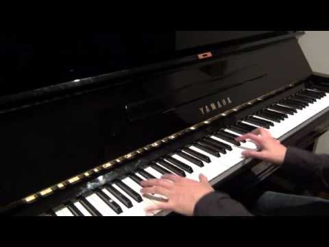 Oasis - Morning Glory (piano cover)