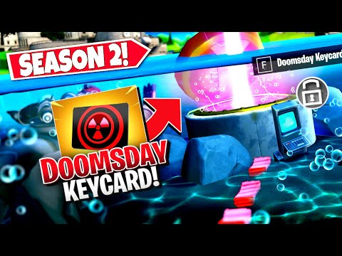 *NEW* ACTIVATING DOOMSDAY *HATCHES* EARLY USING SECRET DOOMSDAY KEYCARD IN FORTNITE! (Battle Royale)