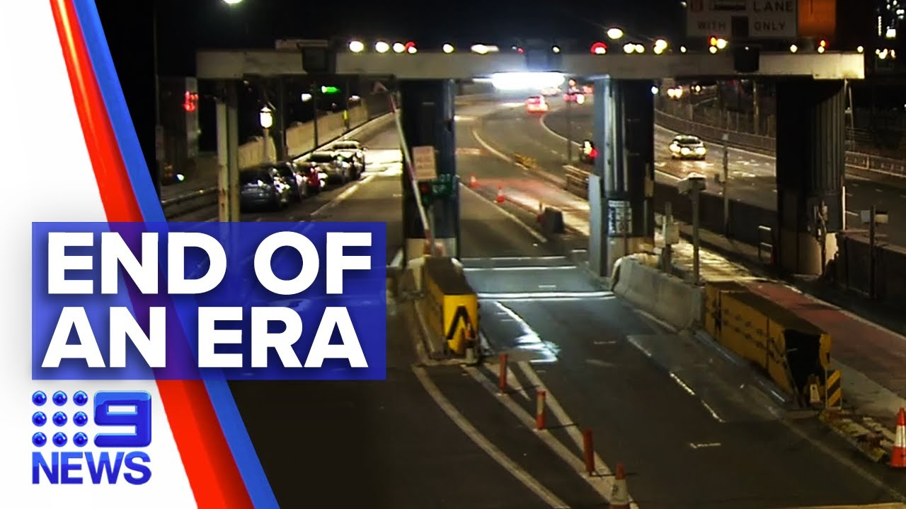 Sydney Harbour Bridge toll booths to be removed | 9 News Australia