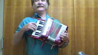 Ryan Thomson Plays Tex Mex On Tiny Toy Miniature Piano Accordion Squeeze Box