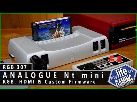 RGB307 :: Analogue Nt mini - RGB, HDMI & Custom Firmware / MY LIFE IN GAMING