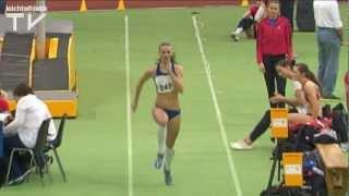 Kristin Gierisch verbessert U23-Hallenrekord