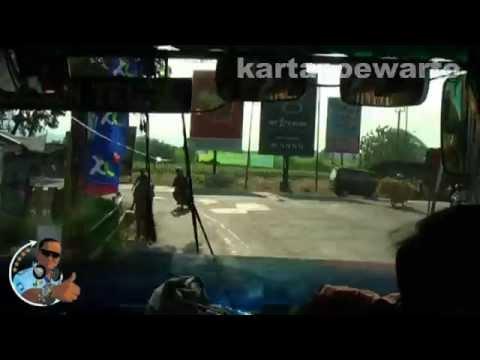 Cirebon To Tegal Town By Mini Bus 2012 (Original Audio)