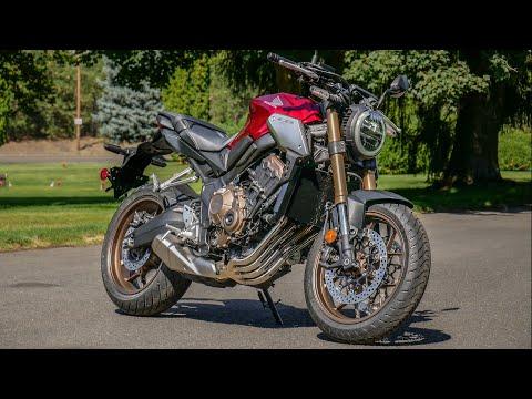 2019 Honda CB650R First Ride (CB1000R or CB650R?)
