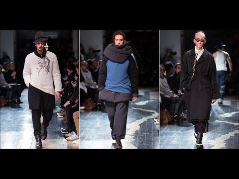 Yohji Yamamoto - Fall/Winter 2016-2017 at Paris Fashion Week