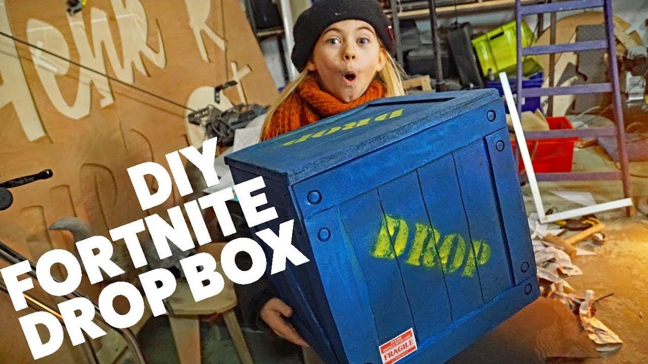 Koterij #99: DIY Fortnite drop box - YouTube