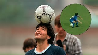 Diego Maradona 25 magical moments! Technically unsurpassed