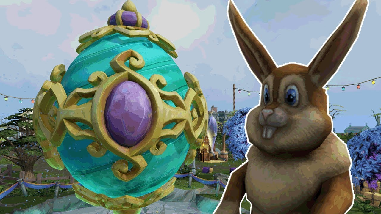 That Is A Big Egg Runescape 132 Easter 2019 Youtube