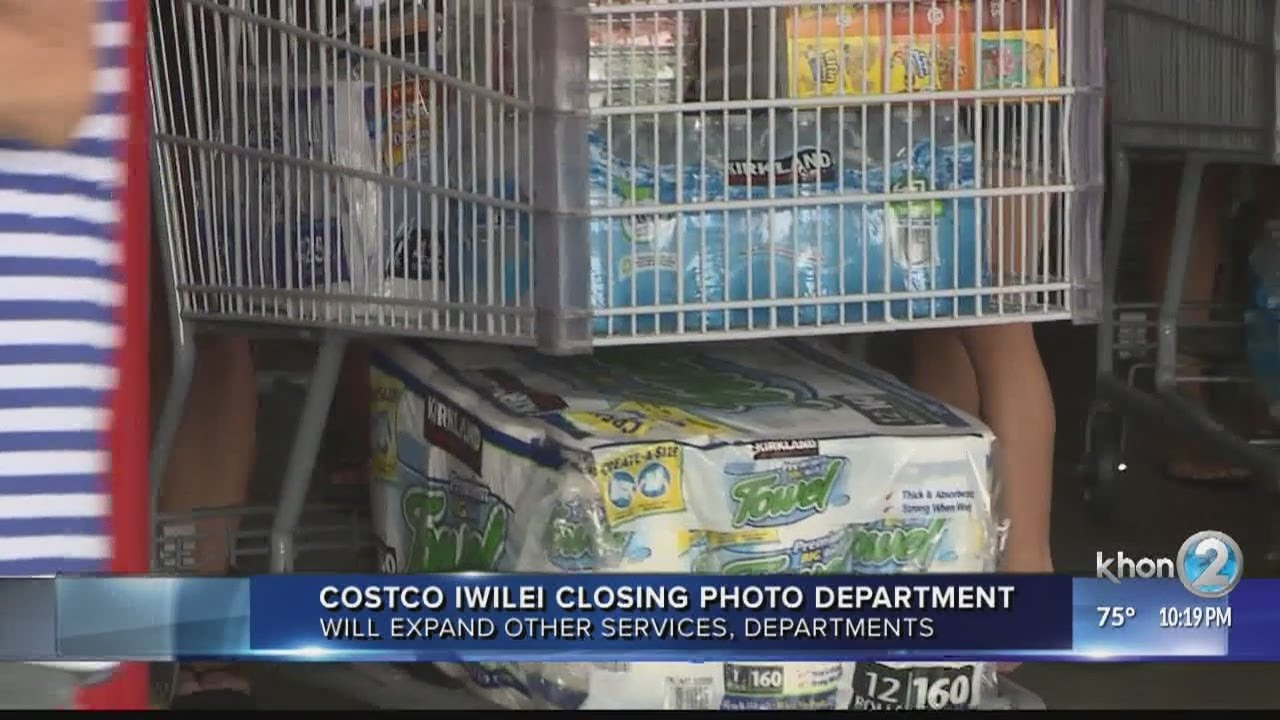 costco to eliminate photo printing service at iwilei warehouse youtube