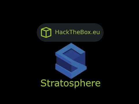 HackTheBox - Stratosphere