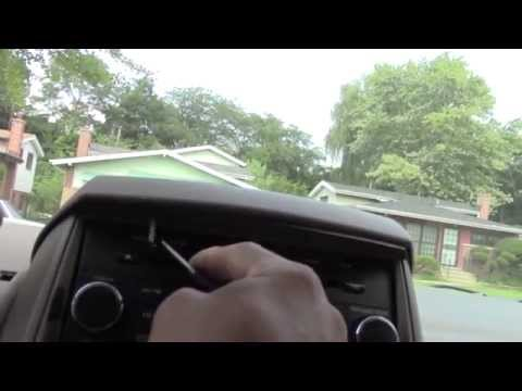 Uninstalling Chrysler Town And Country Double Din Radio