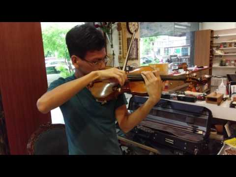 Old French violin