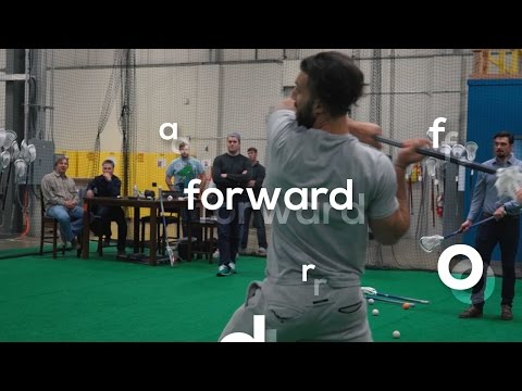 Paul Rabil Tests New Warrior Lacrosse Sticks | forward pt 2
