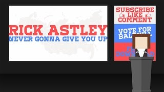 Rick Astley - Never Gonna Give You Up (Paul Baldhill cover) (Lyric Video)