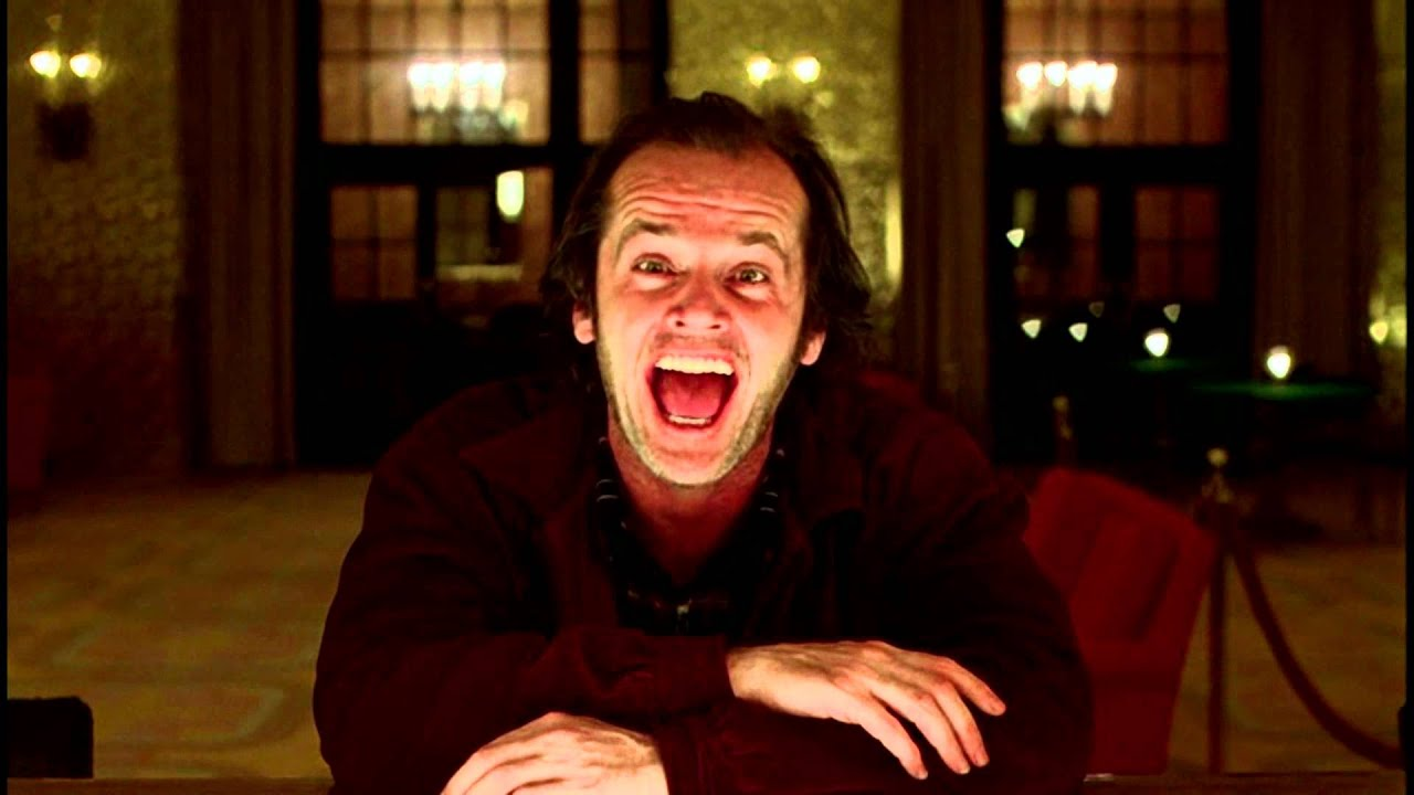 Jack Nicholson Laugh The Shining