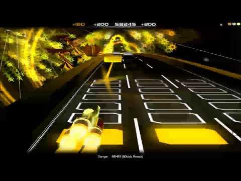 Audiosurf - Danger - 88h88 (80kidz remix)
