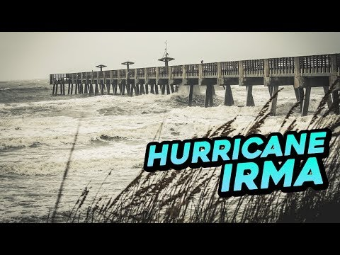 Hurricane Irma - Evacuation? NO! Jacksonville, Florida (+EN subs)