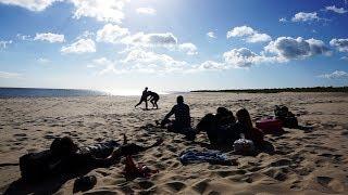 O szóstej rano na plaży OPENER VLOG pt.1