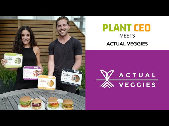 PLANT CEO #65 -  Fresh plant-based burgers, with zero funny stuff added!