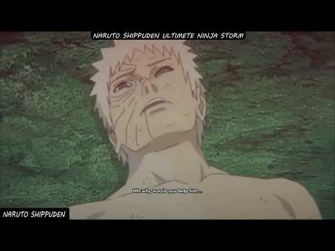 Naruto ナルト名場面   オビトが最後に道を変え改心する